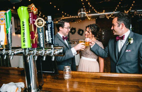 Bar   Bottom Lounge Weddings   Brittany & Patrick   Photographer: A. O'Brien