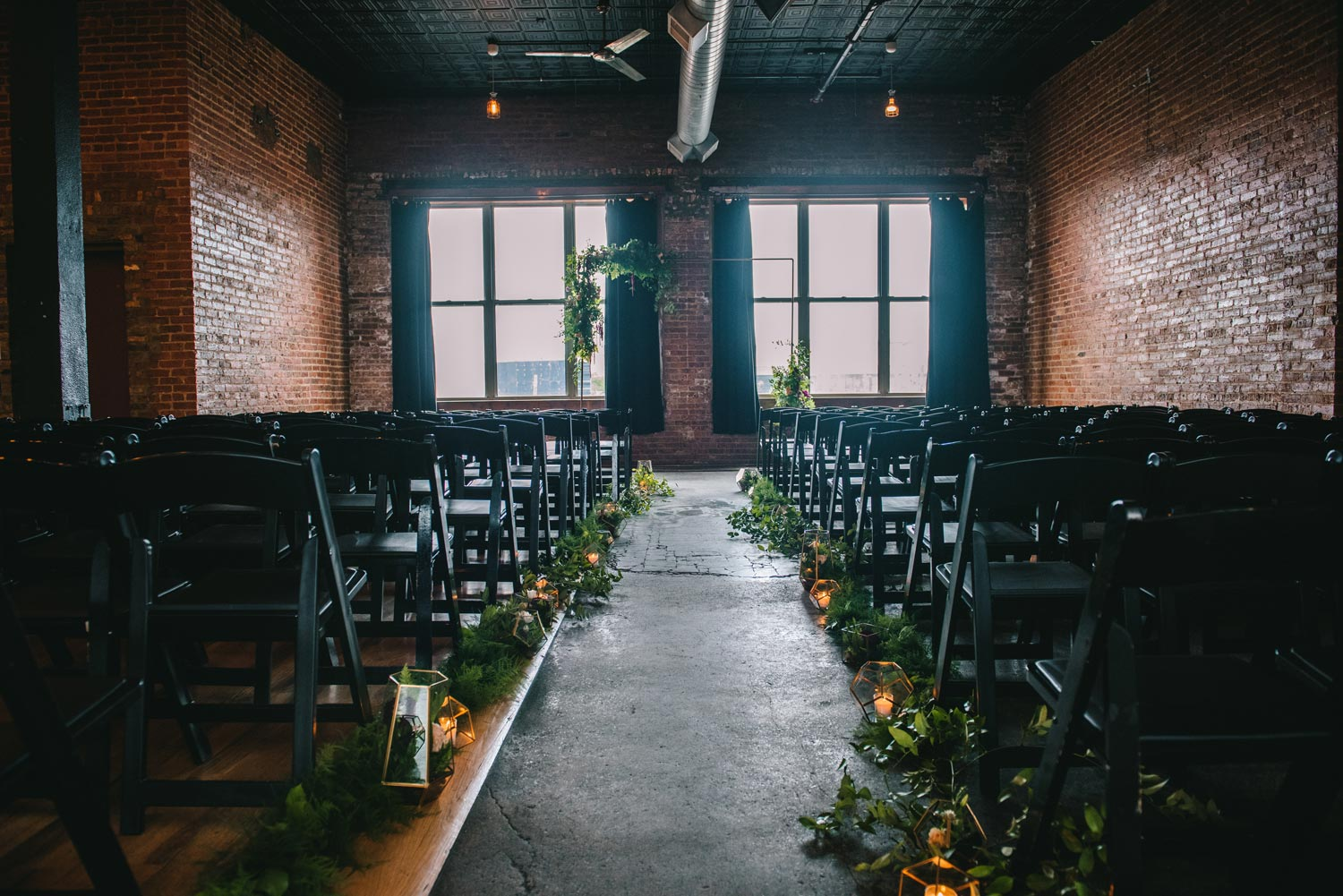 Empty Space | Bottom Lounge Weddings | Brittany & Patrick | Photographer: A. O'Brien