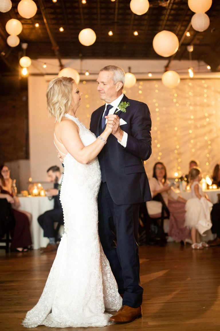 Father Daughter Dance | Bottom Lounge Weddings | Kaitlyn & Eric | Photographer: Zachera Wollenberg