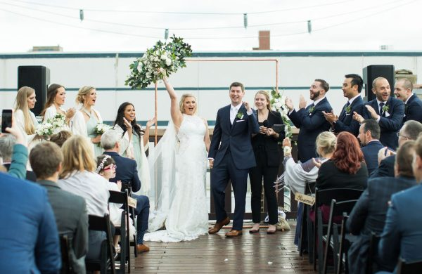 Outdoor Ceremony   Bottom Lounge Weddings   Kaitlyn & Eric   Photographer: Zachera Wollenberg