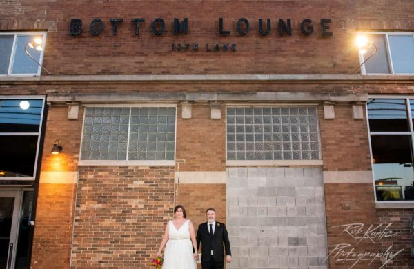 Outside | Bottom Lounge Weddings | Meghan & Bill | Photographer: Rob Karlic
