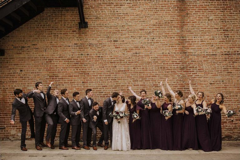 Outside | Bottom Lounge Weddings | Sarah & Mike | Photographer: Kyle Szeto