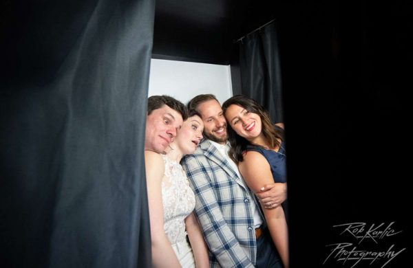 Photo Booth | Bottom Lounge Weddings | Sarah & Brian | Photographer: Rob Karlic