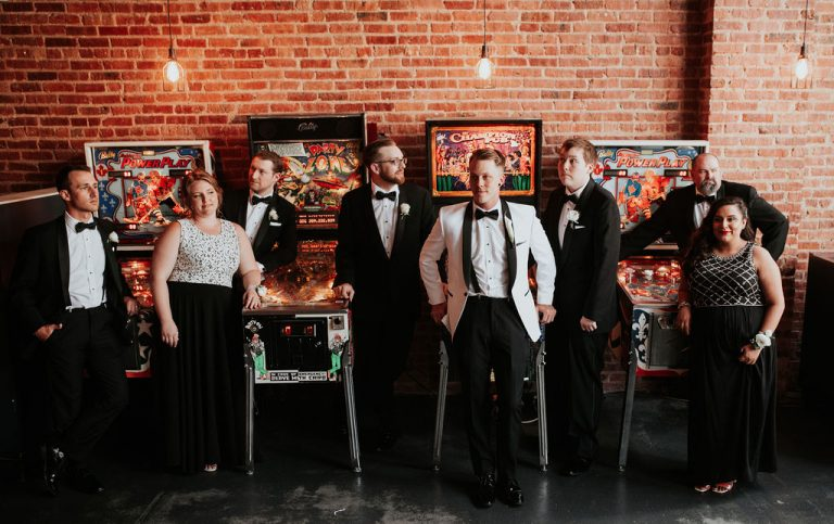 Pinball | Bottom Lounge Weddings | Dana & Bobby | Photographer: Native Among You