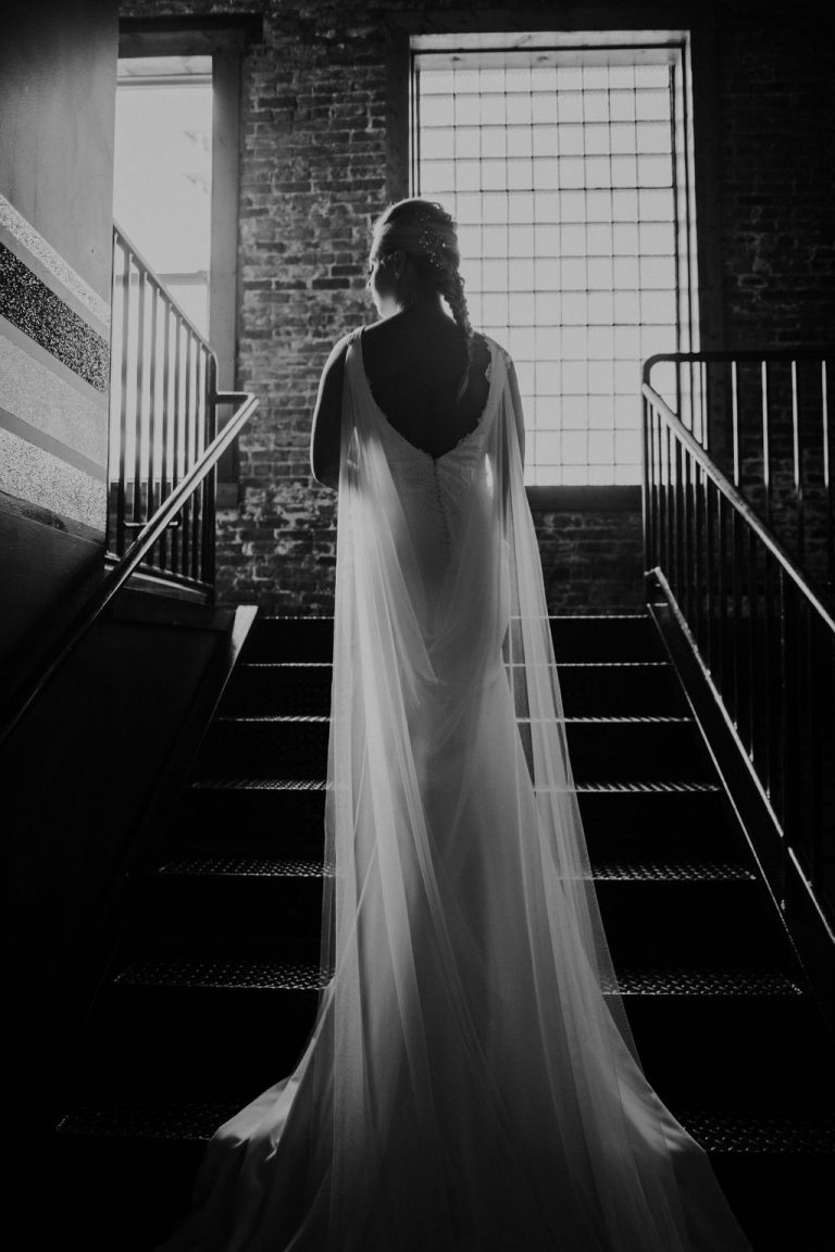 Portrait | Bottom Lounge Weddings | Dana & Bobby | Photographer: Native Among You