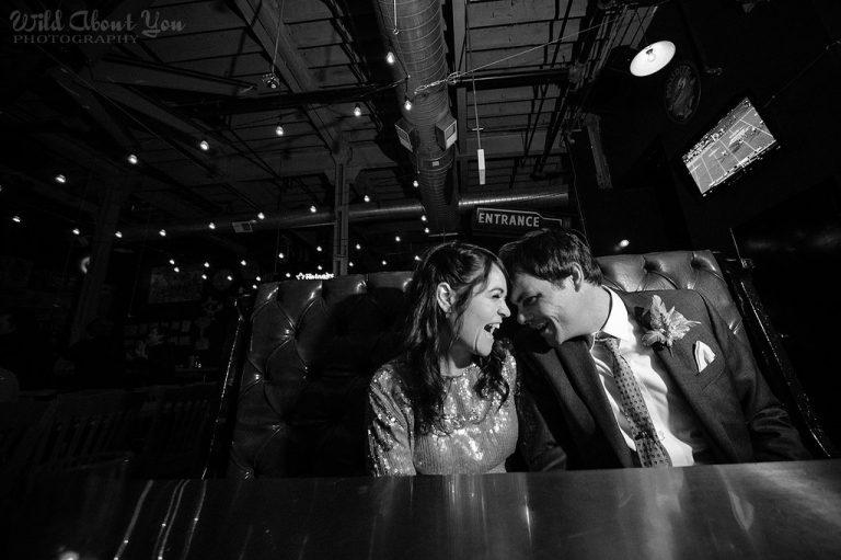 Restaurant   Bottom Lounge Weddings   Rachel & Rob   Photographer: Wild About You