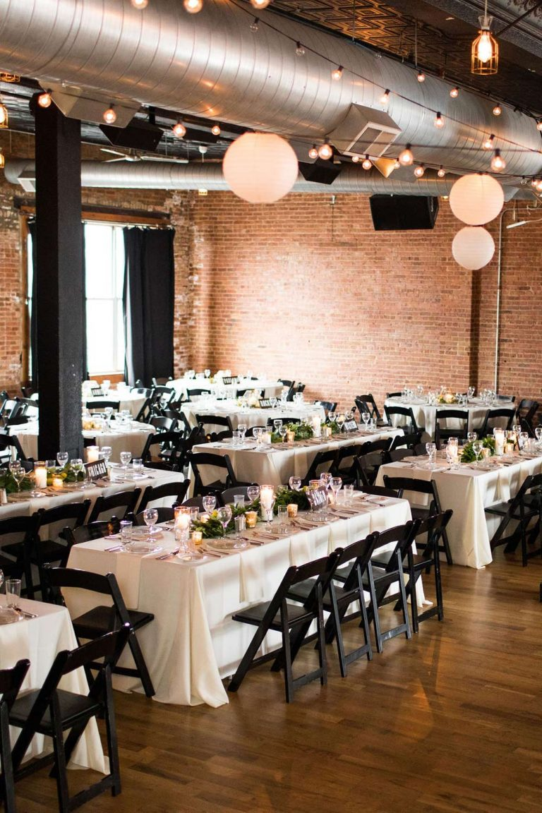 Space 2   Bottom Lounge Weddings   Kaitlyn & Eric   Photographer: Zachera Wollenberg