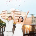 Outdoor Portrait | Bottom Lounge Weddings | Shannon & Liz | Photographer: Zachera Wollenberg
