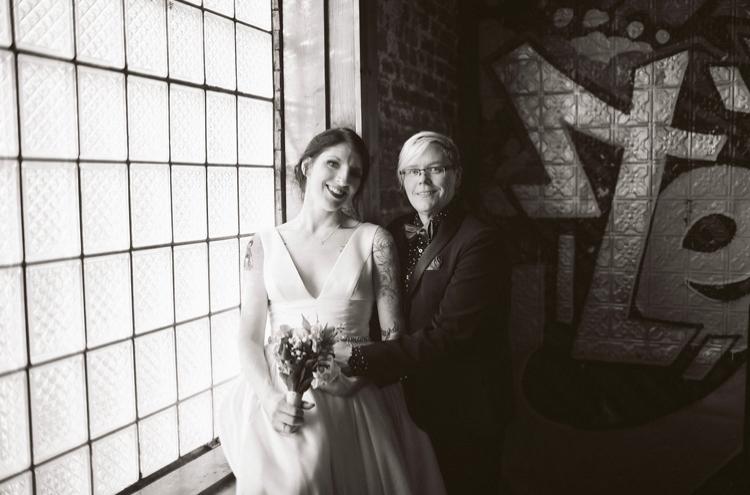 Stairwell   Bottom Lounge Weddings   Joanna & Ptree   Photographer: Rachel Goble